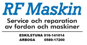 Logga RF Maskin