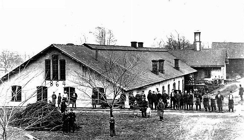 Jäders bruk smedja 1864