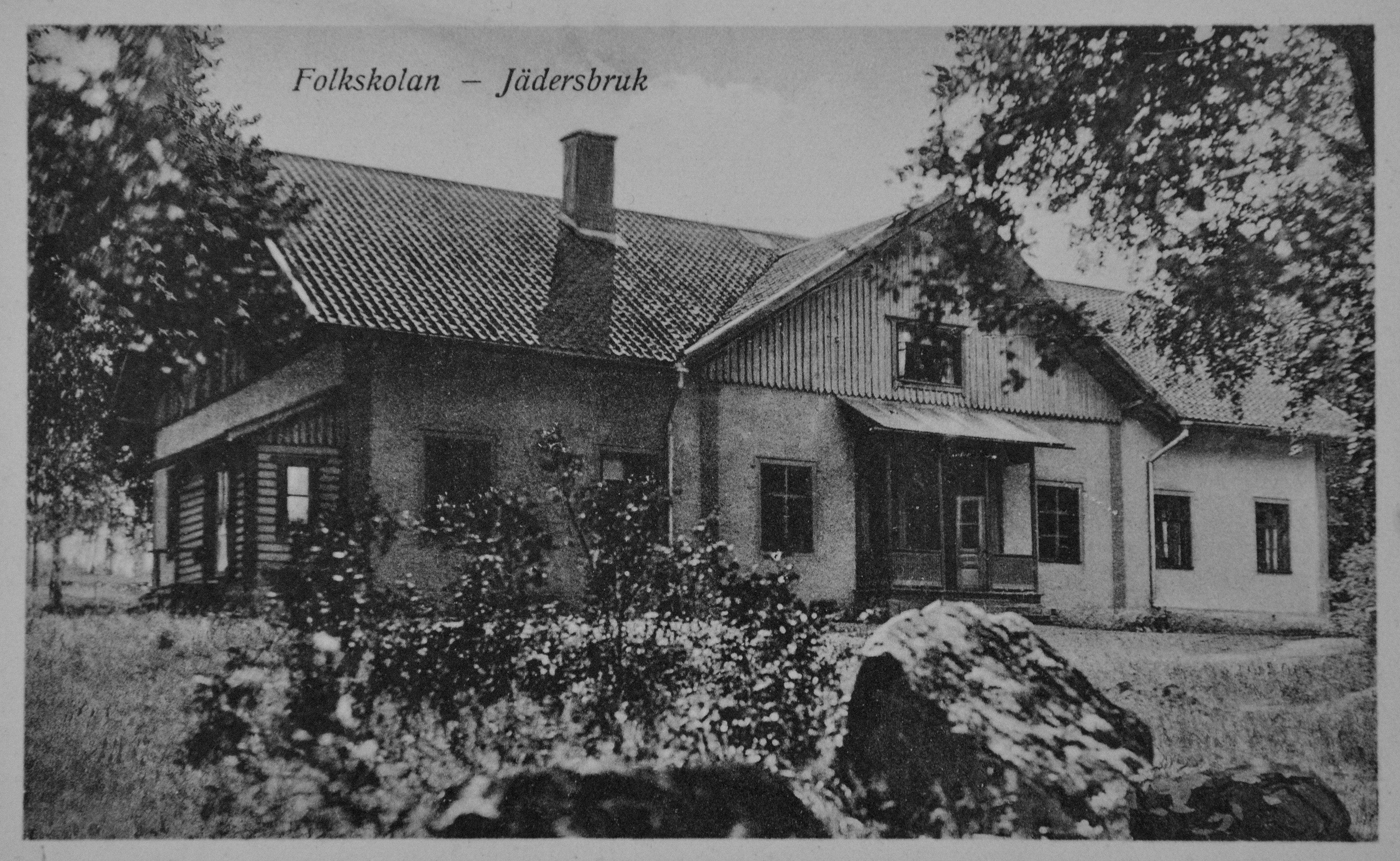 Jäders skola 1900